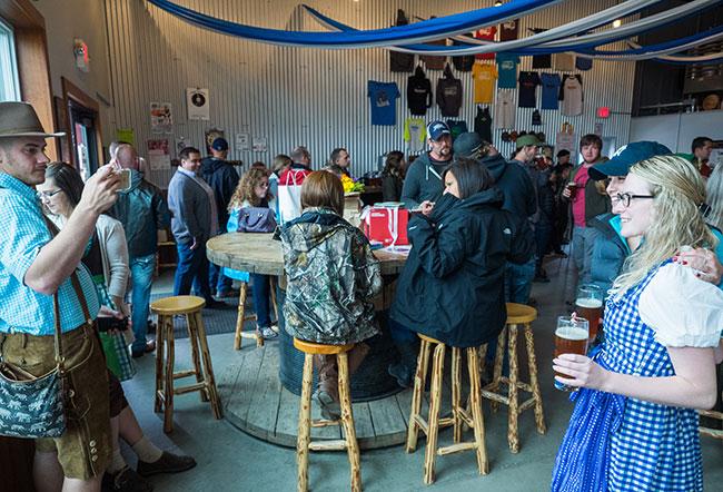 Few establishments enjoy Oktoberfest more than HooDoo Brewing!