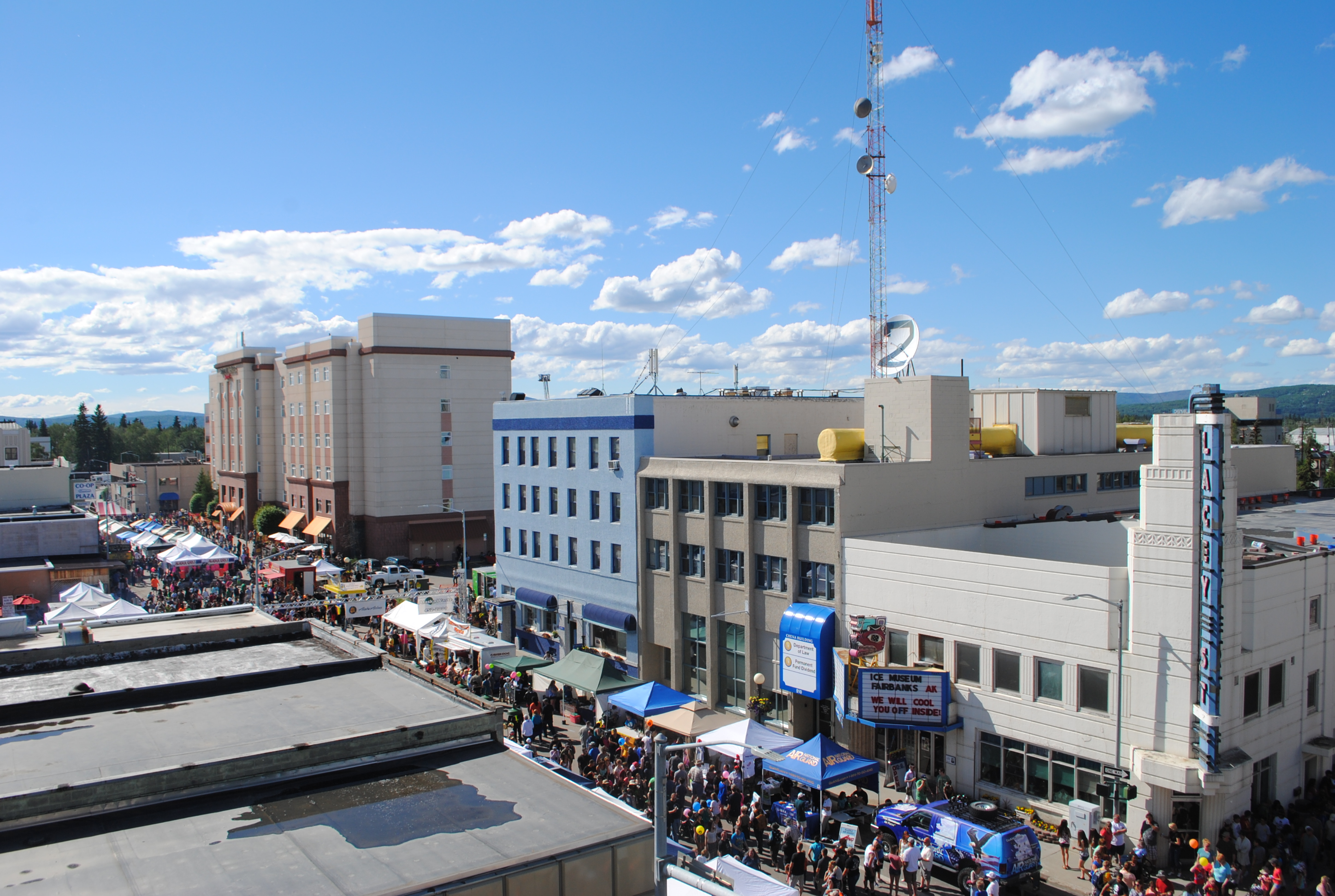 Downtown Fairbanks Alaska